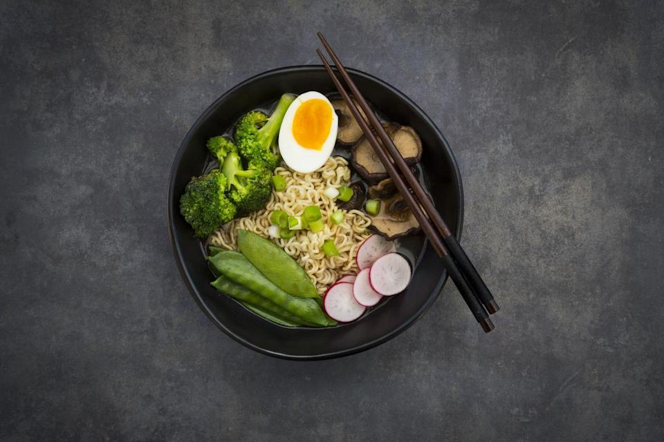 "<p>A lot of people avoid instant ramen because they think it's unhealthy, but that's typically only the case if you're using the flavor packets that come with it (they're loaded with salt). Hiro Mitsui, founder and executive chef at <a href=""https://www.uzu9dc.com/"" rel=""nofollow noopener"" target=""_blank"" data-ylk=""slk:Ramen by Uzu"" class=""link rapid-noclick-resp"">Ramen by Uzu</a>, tells Woman's Day that it's easy to use instant ramen and spruce it up. ""It's simple, it's classic, and it's always delicious,"" he says. </p><p>Mitsui recommends making it your own by adding some stir fried veggies and meat, making the noodles al dente instead of following instructions completely, and adding a little spice. <br></p><p>Give the gift of more recipes! Send your loved one <a href=""https://subscribe.hearstmags.com/subscribe/splits/womansday/wdy_gift_nav_link?source=wdy_edit_article_gift"" rel=""nofollow noopener"" target=""_blank"" data-ylk=""slk:12 issues of Woman's Day for $7.99"" class=""link rapid-noclick-resp""><strong>12 issues of Woman's Day for $7.99</strong></a>! And while you're at it, <a href=""https://subscribe.hearstmags.com/circulation/shared/email/newsletters/signup/wdy-su01.html"" rel=""nofollow noopener"" target=""_blank"" data-ylk=""slk:sign up for our FREE newsletter"" class=""link rapid-noclick-resp"">sign up for our FREE newsletter</a> for even more of the Woman's Day content you want.</p>"