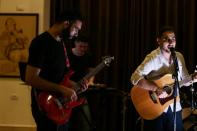 """Gaza's first """"Osprey"""" rock band hopes to wing global"""