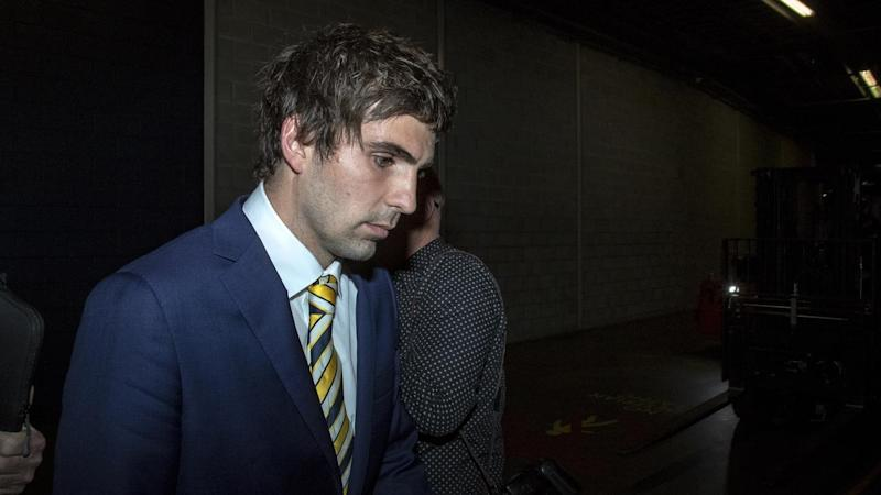 West Coast's Andrew Gaff has been handed an eight-game ban after his punch on Andrew Brayshaw