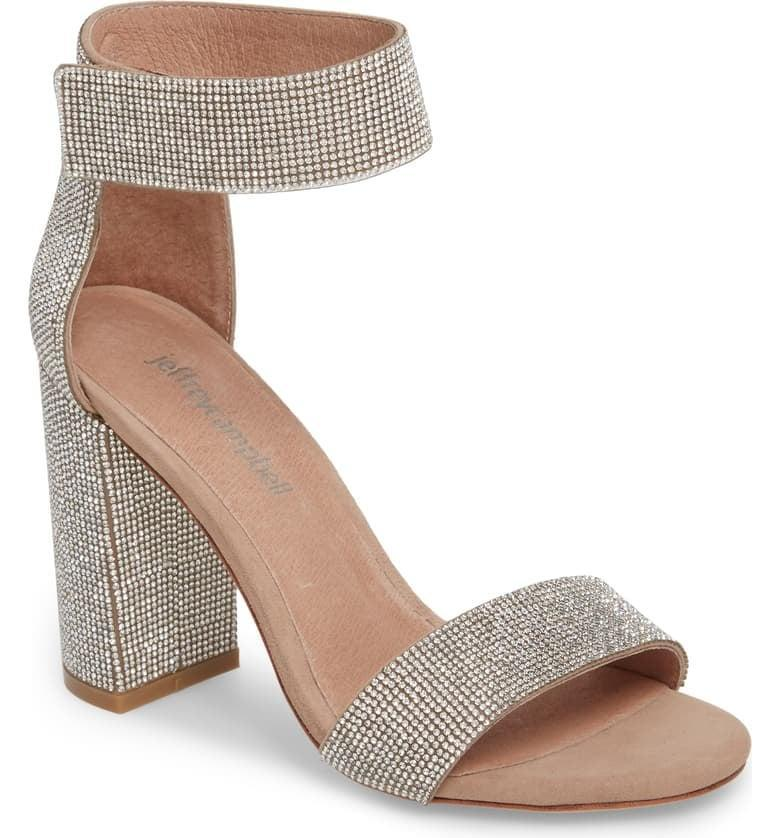 <p>Three words: New Year's Eve. These <span>Jeffrey Campbell Lindsay Sandals</span> ($160) are the perfect party shoe.</p>