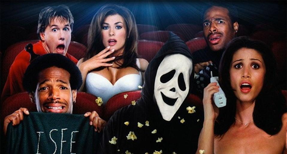 "The tagline for Scary Movie was ""No Mercy. No Shame. No Sequel"". (Dimension)"