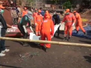 Navy retrieves body of Meghalaya miner 77 days after tragedy; body recovered using UROV and NDRF boat