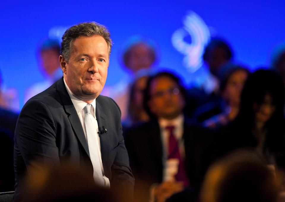 <p>File image: Piers Morgan during a taping of CNN's Piers Morgan Tonight at the annual Clinton Global Initiative in 2013</p> (Getty Images)