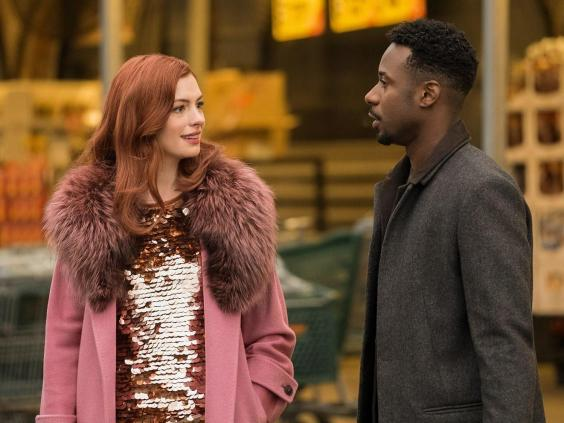 Anne Hathaway and Gary Carr in 'Modern Love' (Amazon Studios)