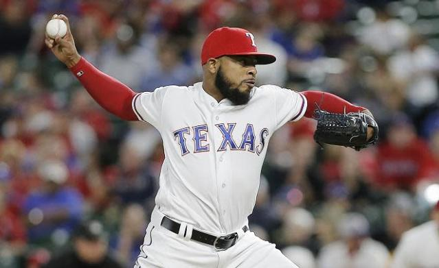 "Reliever <a class=""link rapid-noclick-resp"" href=""/mlb/players/8800/"" data-ylk=""slk:Jeremy Jeffress"">Jeremy Jeffress</a> was traded back to the Brewers in a deadline day deal. (AP)"