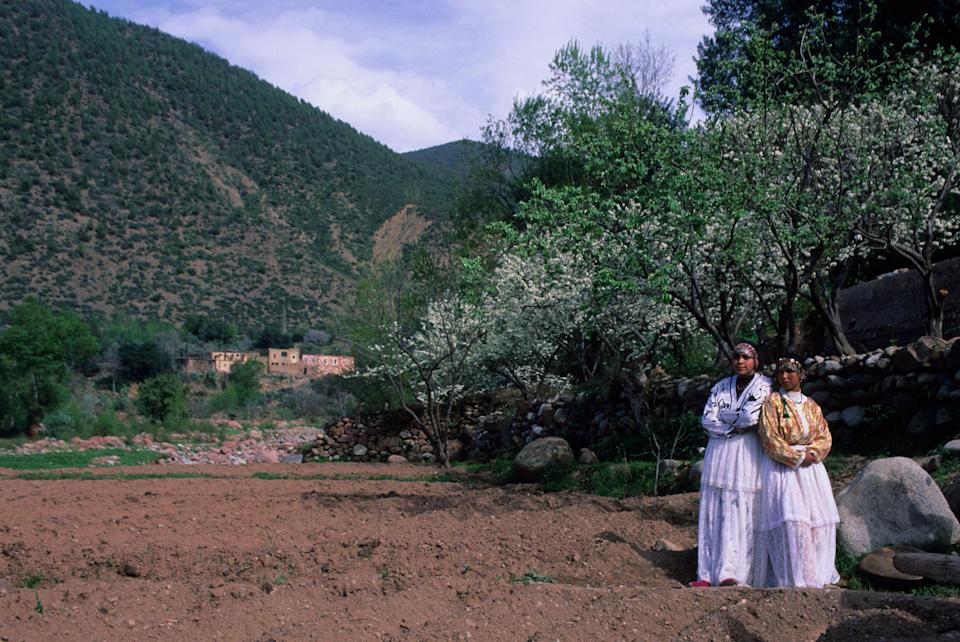 Ourika is surprisingly green - getty