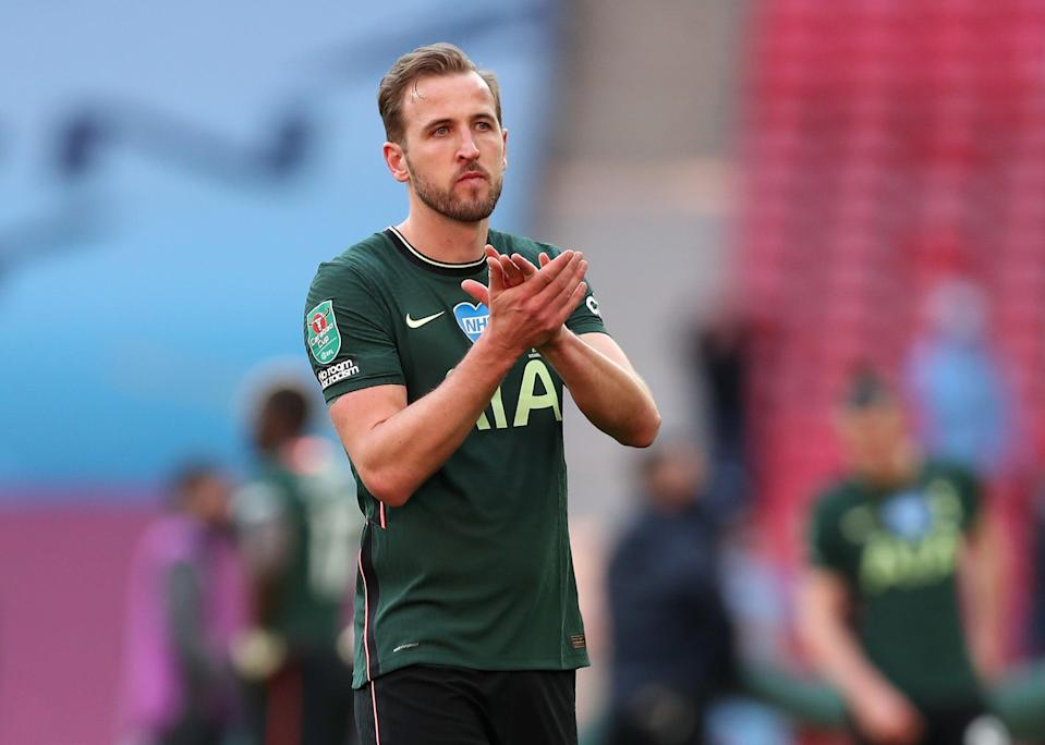 Harry Kane after Spurs' Carabao Cup defeat (Getty)