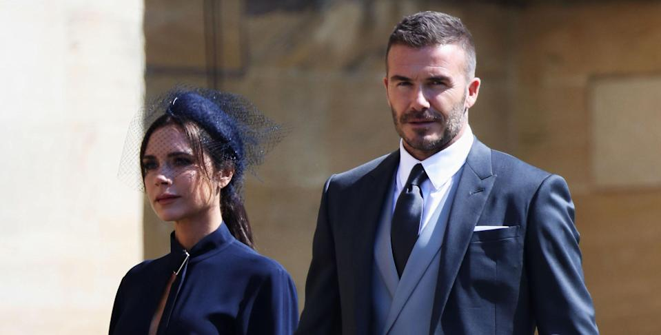 David and Victoria Beckham also attended the Duke and Duchess of Cambridge's 2011 nuptials [Photo: Getty]