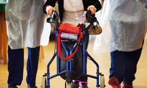 Some care home staff in England not using PPE, find health inspectors