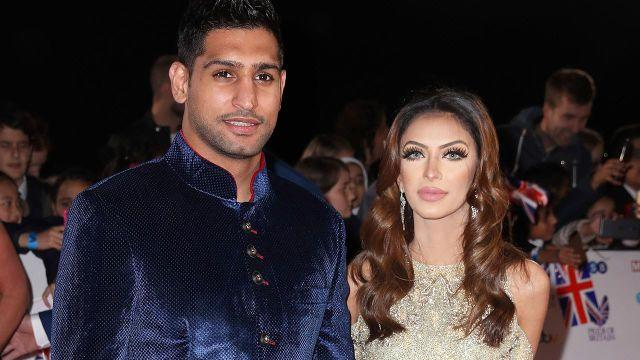 Khan and Makhdoom want to remain on good terms for their children. Pic: Getty