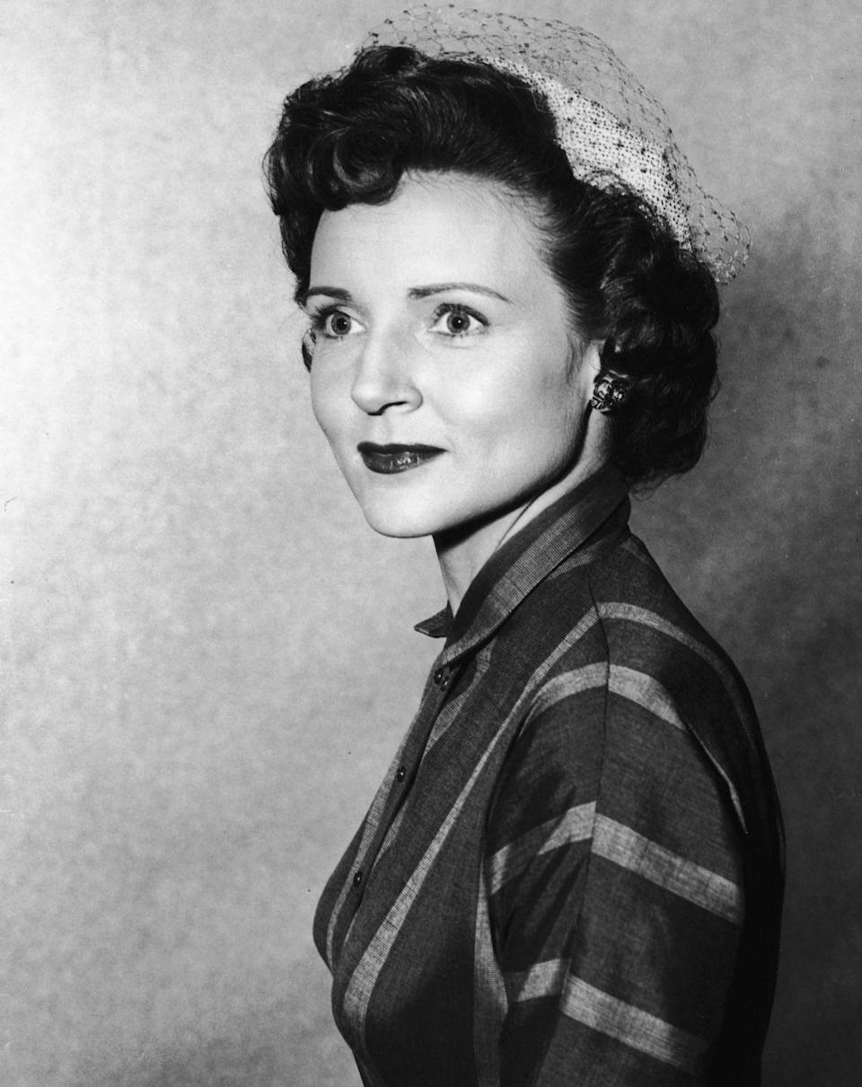 """<p>Betty Marion White was born in Illinois in 1922. At 2 years old, Betty <a href=""""https://www.imdb.com/name/nm0924508/bio"""" rel=""""nofollow noopener"""" target=""""_blank"""" data-ylk=""""slk:moved with her parents"""" class=""""link rapid-noclick-resp"""">moved with her parents</a>, Horace and Tess White, to Los Angeles, California. Her father worked at a lighting company, while her mother stayed at home. </p>"""