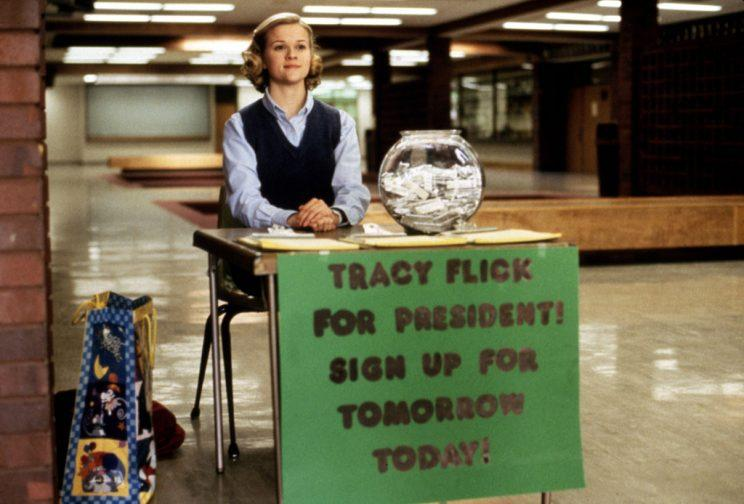 Reese Witherspoon in 'Election' (Photo: Paramount)