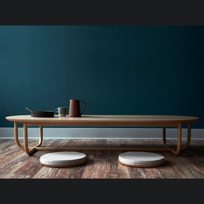 """<p><strong>Gathering Low Table</strong></p><p>bowenliustudio.com</p><p><strong>$11250.00</strong></p><p><a href=""""https://bowenliustudio.com/furniture/gatheringlowtable"""" rel=""""nofollow noopener"""" target=""""_blank"""" data-ylk=""""slk:Shop Now"""" class=""""link rapid-noclick-resp"""">Shop Now</a></p><p>Each of <a href=""""https://bowenliustudio.com/"""" rel=""""nofollow noopener"""" target=""""_blank"""" data-ylk=""""slk:Bowen Liu"""" class=""""link rapid-noclick-resp"""">Bowen Liu</a>'s furniture pieces is designed to help bring people together and complement our daily lives. Liu and her team of artisans handcraft every bar cart, gathering table, and serving tray in the collection.</p>"""