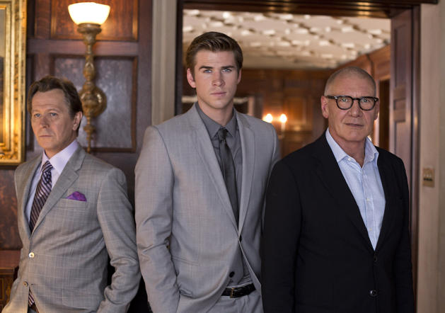 Liam Hemsworth, Gary Oldman, Harrison Ford
