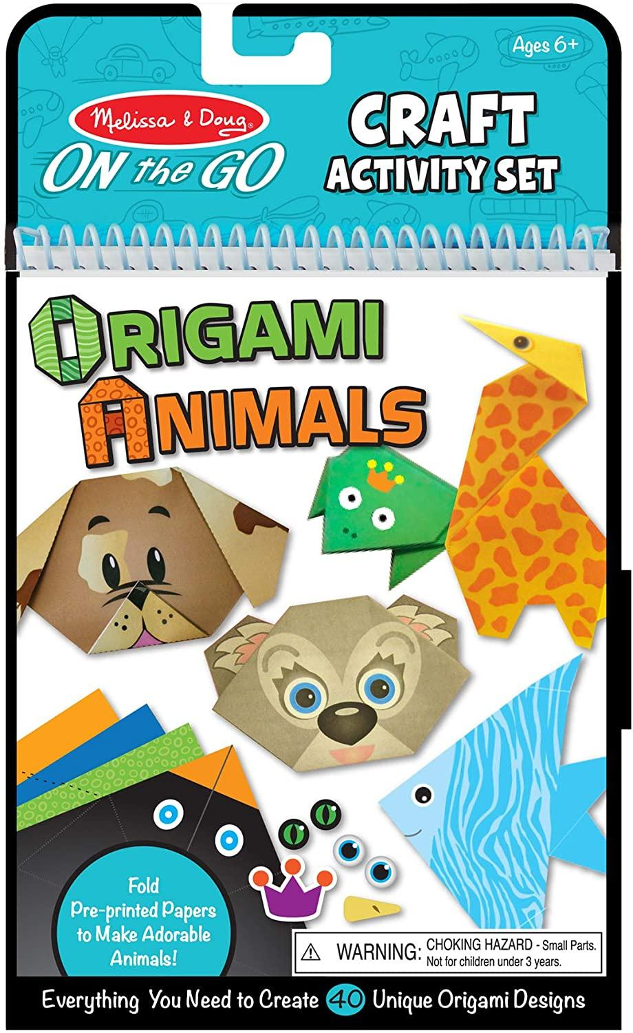How much is that paper doggie — and giraffe and kitty and crane — in the window? Just $8! (Photo: Amazon)