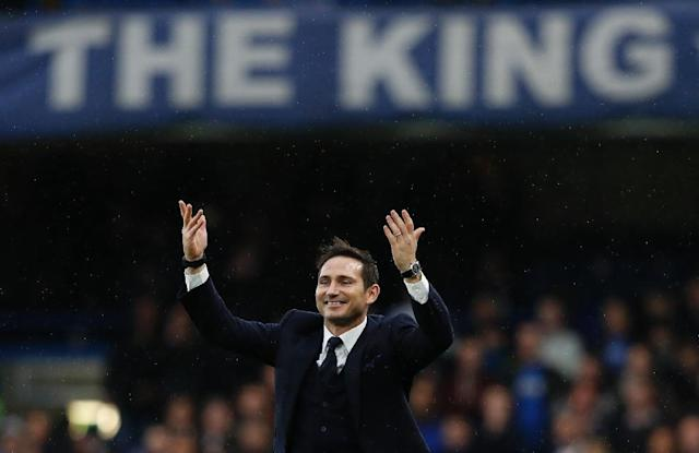 Homecoming: Frank Lampard is close to becoming the new Chelsea manager (AFP Photo/Adrian DENNIS)