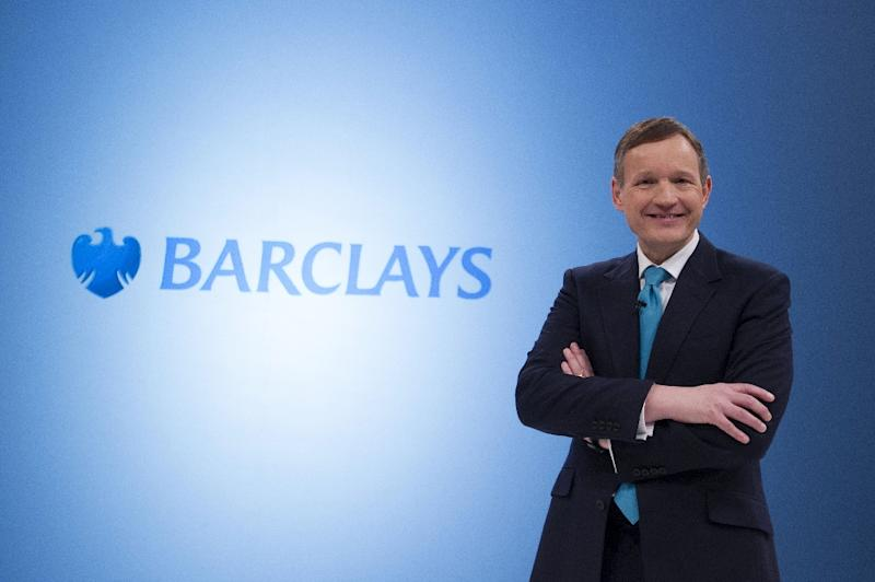 Troubled British bank Barclays announced Wednesday that it has fired chief executive Antony Jenkins (pictured) with immediate effect (AFP Photo/Carl Court)