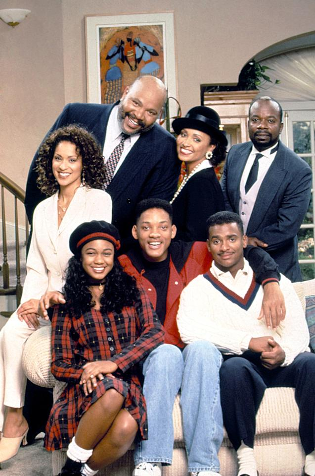 """<p>Partially due to it's catchy theme song ( that I know word for word), the <strong>Fresh Prince of Bel Air</strong> was my favorite late night sitcom to stay up past my bedtime for. <a class=""""sugar-inline-link ga-track"""" title=""""Latest photos and news for Will Smith"""" href=""""https://www.popsugar.com/Will-Smith"""" target=""""_blank"""" data-ga-category=""""Related"""" data-ga-label=""""https://www.popsugar.com/Will-Smith"""" data-ga-action=""""&lt;-related-&gt; Links"""">Will Smith</a> and the Banks kids lived out the issues that many suburban Black kids like myself face including, racial profiling, discrimination in school and not being Black enough. The show also put me on to a lot of Black cultural staples from the guest stars that appeared on the show like <a href=""""https://www.popsugar.com/entertainment/queen-latifah-poor-unfortunate-souls-performance-video-46857399"""" class=""""ga-track"""" data-ga-category=""""Related"""" data-ga-label=""""http://www.popsugar.com/entertainment/queen-latifah-poor-unfortunate-souls-performance-video-46857399"""" data-ga-action=""""In-Line Links"""">Queen Latifah</a> and Boyz II Men.</p>"""