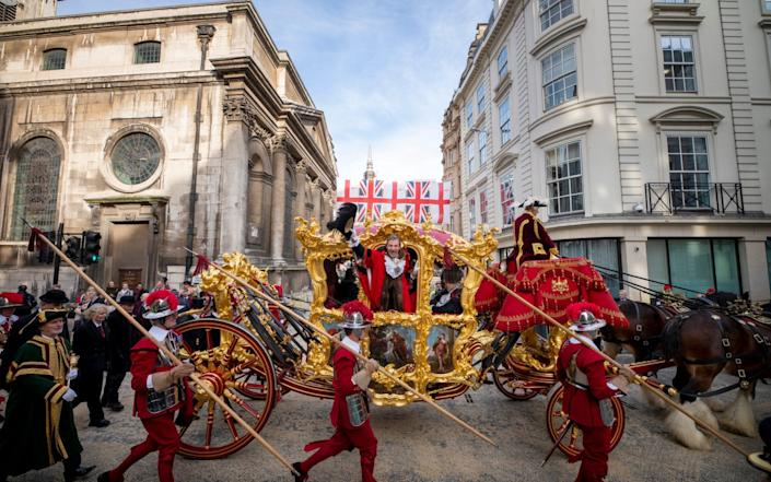 The Lord Mayor's Show in more usual times - Getty