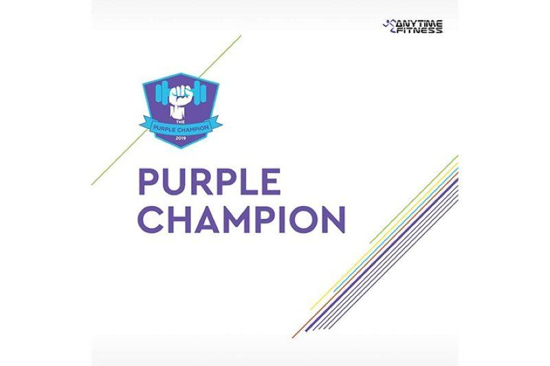 Anytime Fitness launches search for 'Purple Champion'
