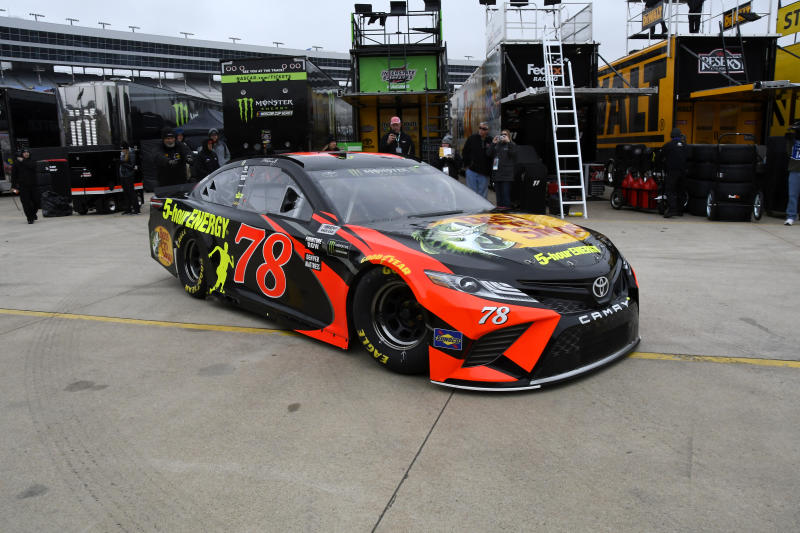 Martin Truex Jr. Captures First Richmond Pole of Career