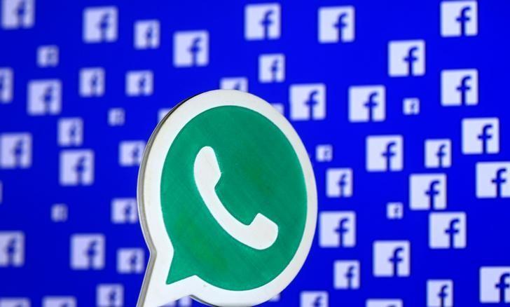 FILE PHOTO: A 3D printed Whatsapp logo is seen in front of a displayed stock graph in this illustration taken April 28, 2016. REUTERS/Dado Ruvic/Illustration