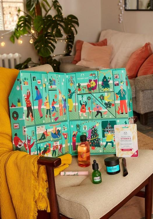 Make It Real Together Ultimate Advent Calendar. Image via The Body Shop.