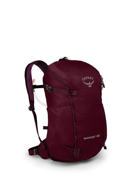 """<p><strong>Osprey</strong></p><p>amazon.com</p><p><strong>$100.00</strong></p><p><a href=""""https://www.amazon.com/dp/B07JF42P8G?tag=syn-yahoo-20&ascsubtag=%5Bartid%7C2141.g.36330154%5Bsrc%7Cyahoo-us"""" rel=""""nofollow noopener"""" target=""""_blank"""" data-ylk=""""slk:Shop Now"""" class=""""link rapid-noclick-resp"""">Shop Now</a></p><p>This hydration pack is made for all-day hikes. It's lightweight, has storage for all your essential gear, and has a 2.5 liquid bladder. It's made of nylon materials and even has compression <strong>straps that can carry trekking poles.</strong></p>"""
