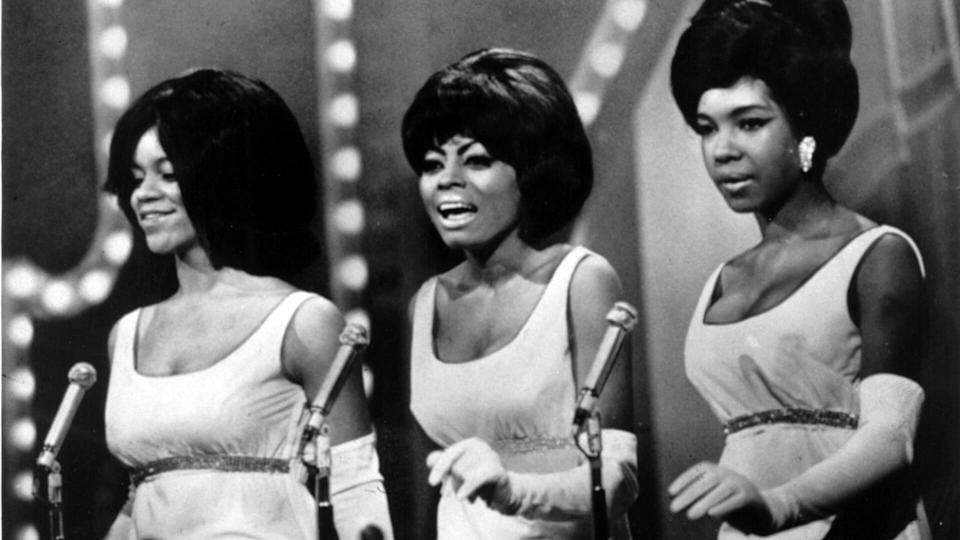 Mandatory Credit: Photo by Everett/Shutterstock (10296686a)The Supremes (Florence Ballard, Diana Ross, Mary Wilson), circa 1966Historical Collection.