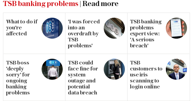 TSB banking problems | Read more