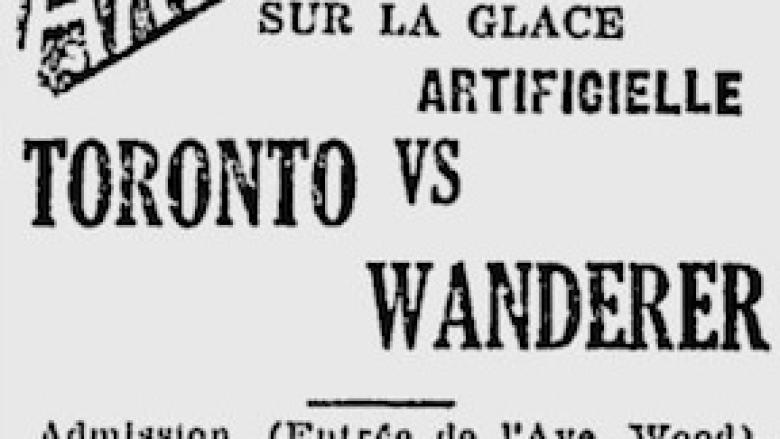 Solving the mystery of the NHL's 1st game
