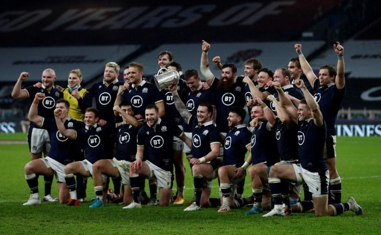 Scotland can celebrate their first Six Nations win at Twickenham in 38 years with centre Cameron Redpath pivotal to the success after an assured debut