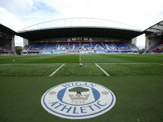 Wigan may be relegated by any points deduction (Getty)