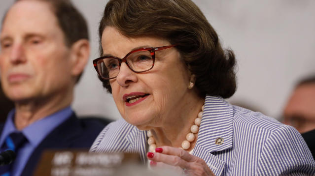 WASHINGTON ― One of the congressional committees probing whether President Donald Trump's campaign colluded with Russia in last year's election expects public testimony from Trump's eldest son and may subpoena the president's former campaign chairman, two key figures in the ongoing investigations, according to the top Democrat on the committee, Sen. Dianne Feinstein (D-Calif.).