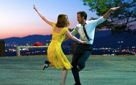 Emma Stone and Ryan Gosling in La La Land - Credit: AP