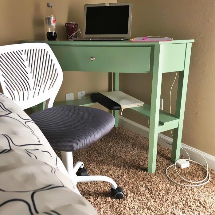 """<h2>Andover Mills Suri Corner Desk</h2><br>Many reviewers have happily purchased this top-selling desk as a small-space solution and have not lived to regret it (whether it was for themselves or for their remote-learning kids). Its nifty corner design coupled with vibrant color options and bonus storage capabilities make for a top-bought trifecta. <br><br><strong>4.6 out of 5 stars and 2,643 reviews</strong><br>""""This desk is just what I needed for my small space. The quality is great and it looks nice. I put it together by myself in less than two hours. Assembly was easy enough and all the pieces and hardware fit together perfectly."""" <em>– Wayfair Reviewer</em><br><br><em>Shop <strong><a href=""""https://www.wayfair.com/furniture/pdp/andover-mills-suri-corner-desk-w000796135.html"""" rel=""""nofollow noopener"""" target=""""_blank"""" data-ylk=""""slk:Wayfair"""" class=""""link rapid-noclick-resp"""">Wayfair</a></strong></em><br><br><strong>Andover Mills</strong> Suri Corner Desk, $, available at <a href=""""https://go.skimresources.com/?id=30283X879131&url=https%3A%2F%2Fwww.wayfair.com%2Ffurniture%2Fpdp%2Fandover-mills-suri-corner-desk-w000796135.html"""" rel=""""nofollow noopener"""" target=""""_blank"""" data-ylk=""""slk:Wayfair"""" class=""""link rapid-noclick-resp"""">Wayfair</a>"""