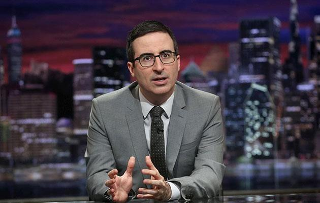 The Last Week Tonight host didn't back down earlier this month, saying Hoffman's apology
