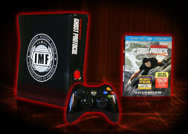 Mission: Impossible - Ghost Protocol XBox Blu-ray Prize Pack