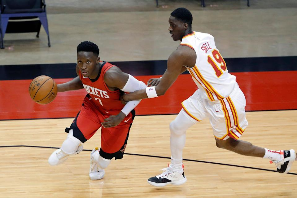 The Rockets compelled to trade Victor Oladipo before they lost him in free agency.