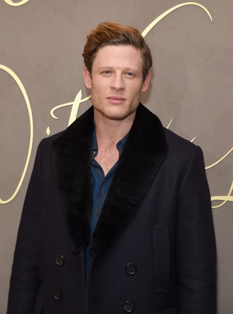 LONDON, ENGLAND - NOVEMBER 03: James Norton attends the Burberry Festive Film Premiere on November 3, 2015 in London, England. (Photo by David M. Benett/Dave Benett / Getty Images for Burberry)