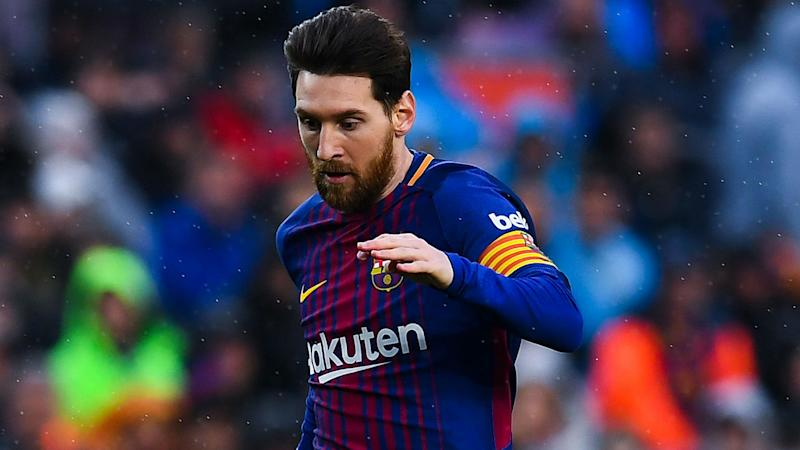 Barcelona beat Malaga while Lionel Messi attends birth of son