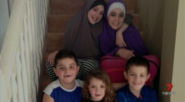 The Sharrouf children, who are believed to be stranded in Syria after their mother and father reportedly died. Photo: 7 News
