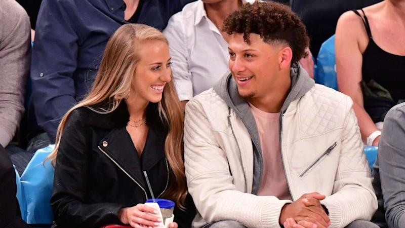 Patrick Mahomes expecting 1st child with fiancee Brittany Matthews