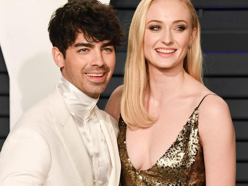 Sophie Turner and Joe Jonas Shared the First Photo From Their Wedding