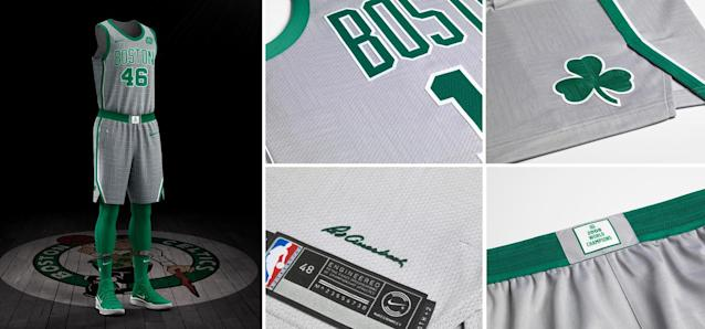Boston Celtics City uniform. (Nike)