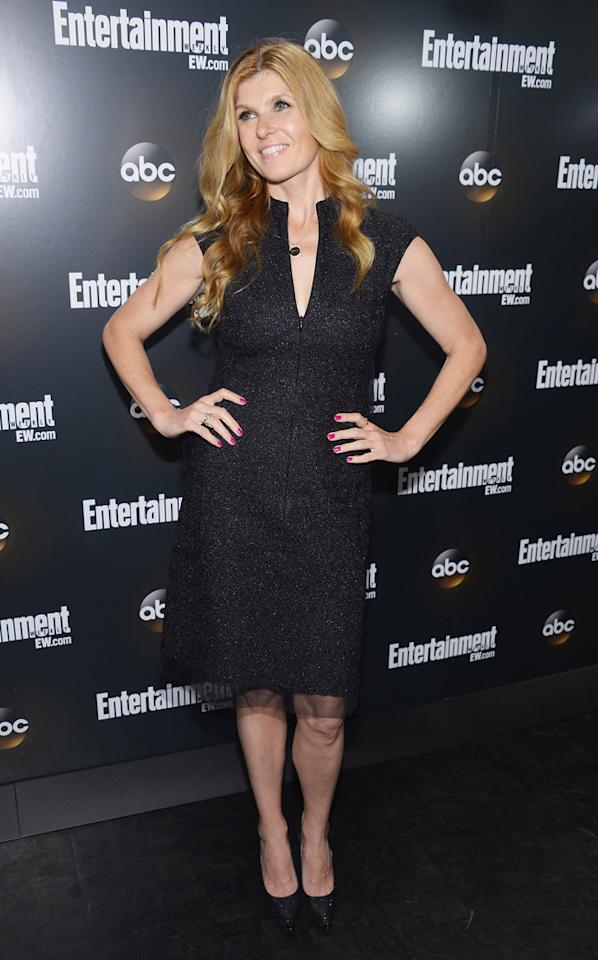"""Connie Britton (""""Nashville"""") attends the Entertainment Weekly and ABC Upfront VIP Party at Dream Downtown on May 15, 2012 in New York City."""