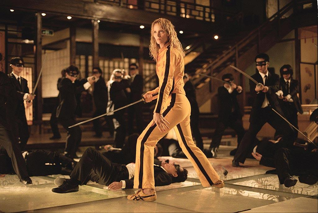 "<a href=""http://movies.yahoo.com/movie/contributor/1800013025"">Uma Thurman</a>, ""<a href=""http://movies.yahoo.com/movie/1808404742/info"">Kill Bill Vol. 1</a>""<br><br>Uma slices and dices her way through an all-star ensemble that includes <a href=""http://movies.yahoo.com/movie/contributor/1800019059"">Vivica A. Fox</a> as the venomous Vernita Green and a lethal <a href=""http://movies.yahoo.com/movie/contributor/1800024023"">Lucy Liu</a> as O-Ren Ishii after waking from a coma and realizing that revenge is best served with a sharp sword."