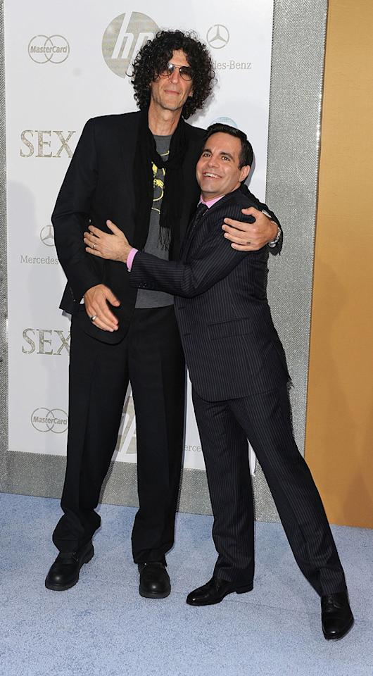 """<a href=""""http://movies.yahoo.com/movie/contributor/1800024096"""">Howard Stern</a> and <a href=""""http://movies.yahoo.com/movie/contributor/1804736555"""">Mario Cantone</a> at the New York City premiere of <a href=""""http://movies.yahoo.com/movie/1810111276/info"""">Sex and the City 2</a> - 05/24/2010"""