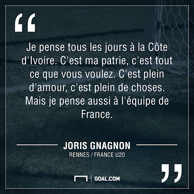 Joris Gnagnon France U20