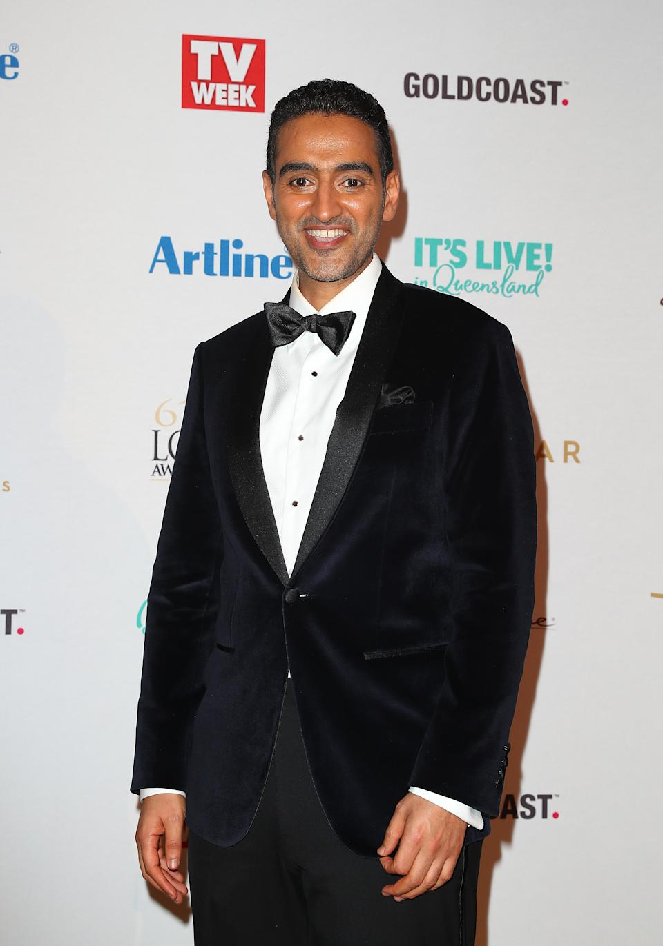 Waleed Aly was another one Leon guessed at, though he doesn't seem to have confirmation on this theory. Photo: Getty Images